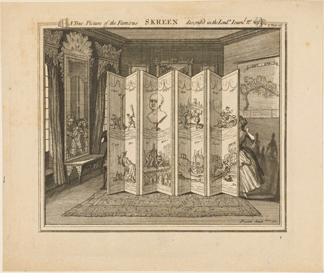 ATrue Picture of the Famous Skreen Describ[e]d in the Lond[o]n Journ[a]l No. 85