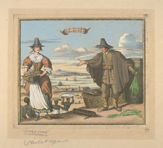 Engelse Quakers en tabak planters in Barbados 499.