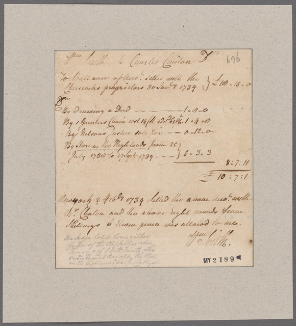 Smith, William. To Charles Clinton