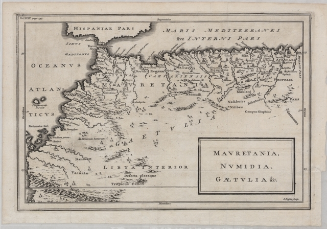 Mauretania, Numidia, Gaetulia, etc