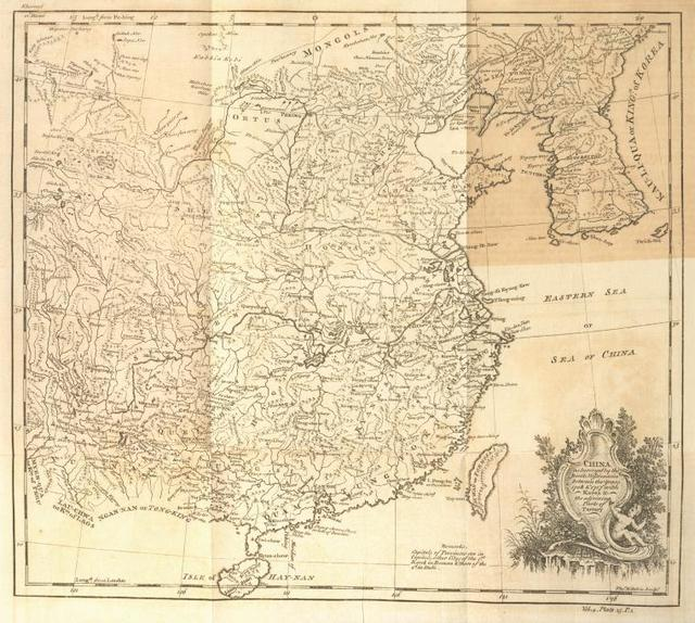 [A map of China, Korea and adjoining parts of Tartary.]