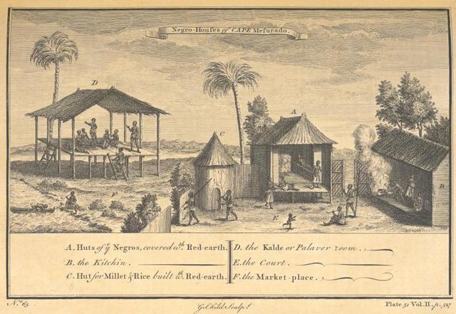 Negro house of Cape Mesurado.
