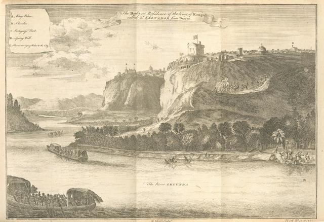 The Bansa, or residence of the King of Kongo, called St. Salvador.