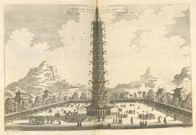 The porcelane tower at Nan-kin.