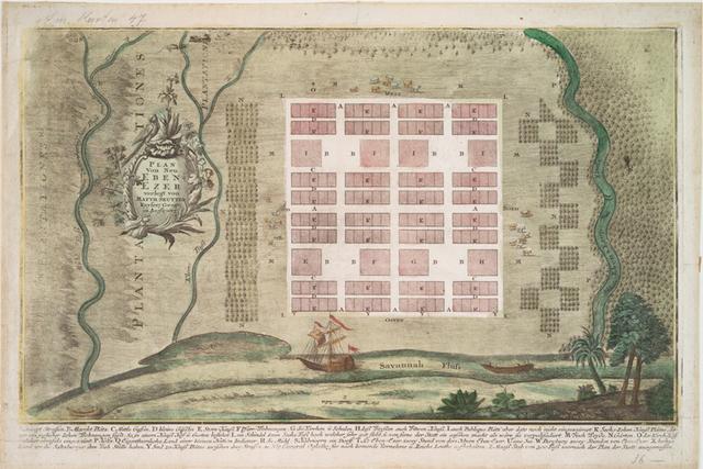 Plan von Neu Eben-ezer