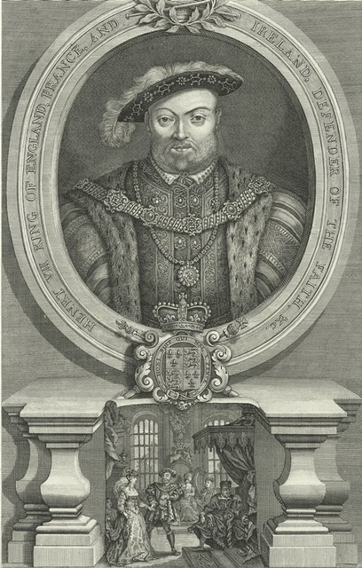 Henry VIII King of England, France, and Ireland, Defender of the Faith, etc.