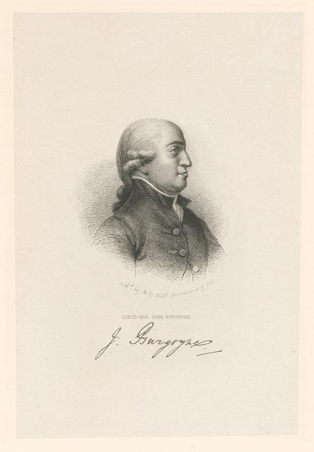 Lieut.-Gen. John Burgoyne