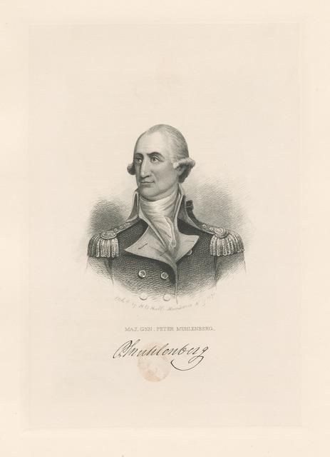 Maj. Gen. Peter Muhlenberg