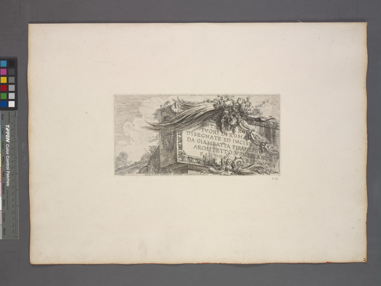[Second] title page: Roman Antiquities outside Rome. . .