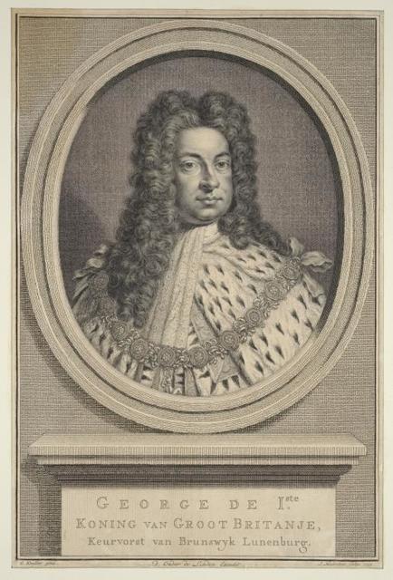 George de 1ste, Koning van Groot Britanje....