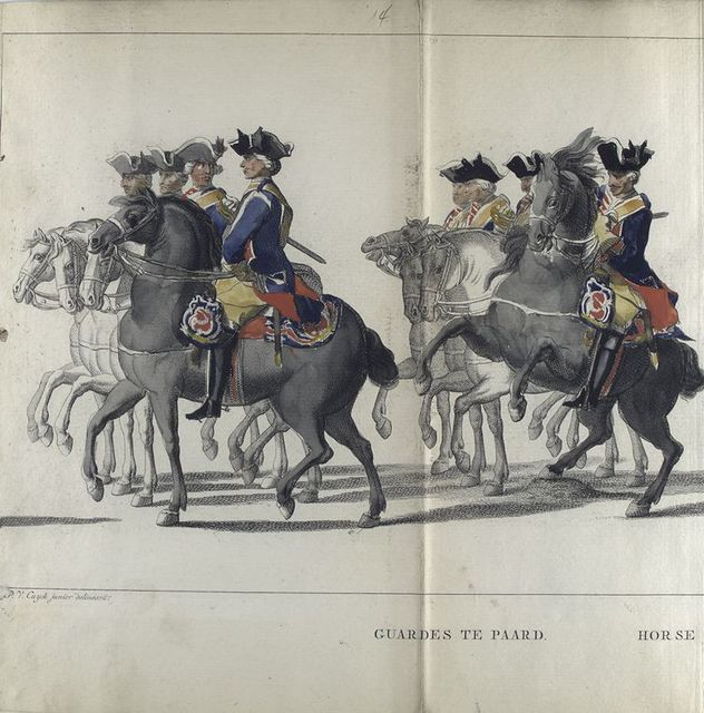 Guardes te Paard. 1752