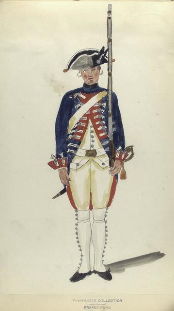 4-o Bataillon Infanterie Oranje-Nassau.