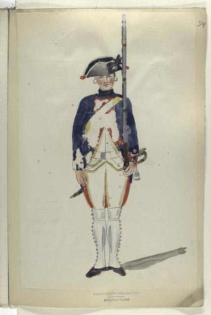 Infanterie Regiment Leewe. R. no. 2.  1753