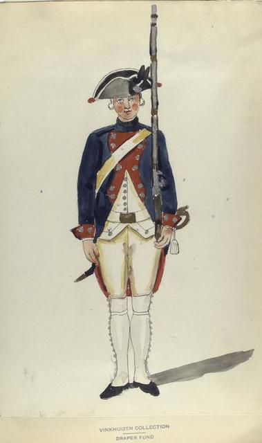 Infanterie Regiment Saxen-Gotha.