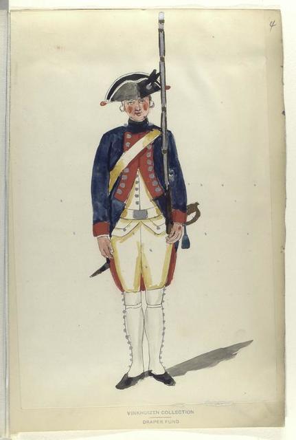 Infanterie Regiment van Acronius. R. no. 17