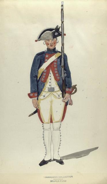 Infanterie Regiment Van der Cloosterl. R. no. 10