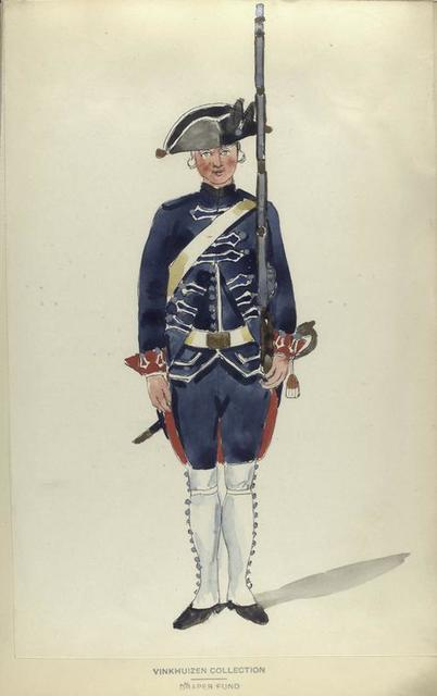 Regiment Garde Zwitsers.