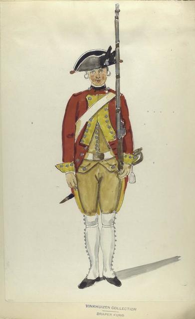 Schotsch Infanterie Regiment Stewart. R. S. no. 3