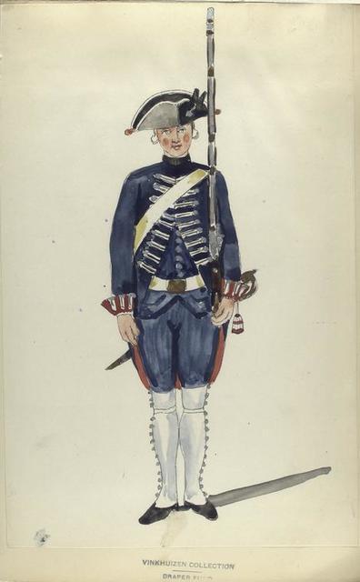 Zwitsersch Infanterie Regiment Hirtzel. R.Z. no. 1