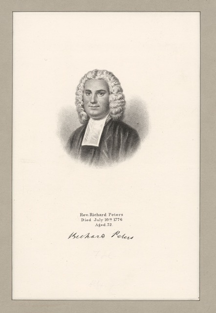 Rev. Richard Peters.