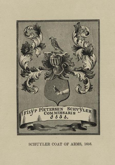 Schuyler coat of arms, 1656.