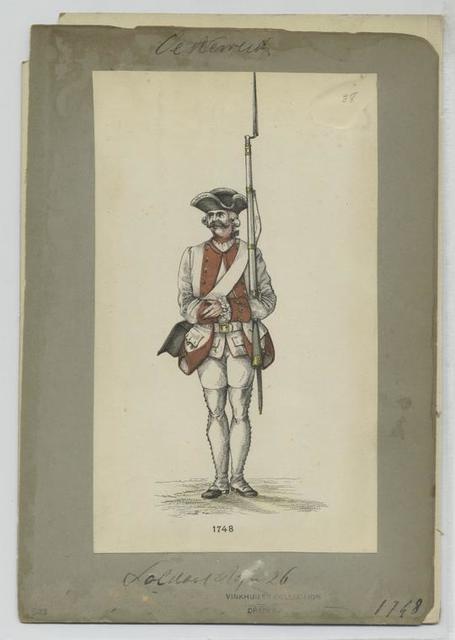 Füsilier 1748