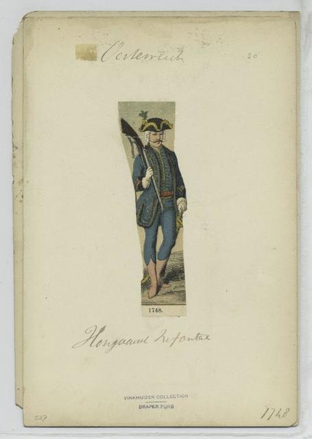 Hongaarsch Infanterie 1748