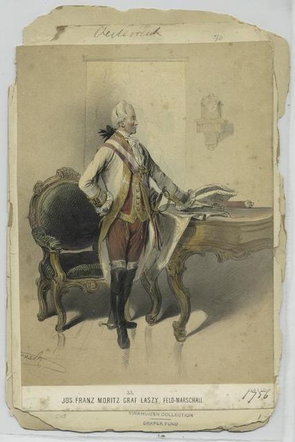 Jos. Franz Moritz Graf Laszy, Feld-Marschall
