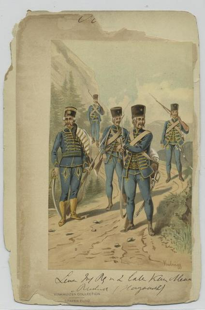 Linie Inf. Regiment [] (Hongaasch)
