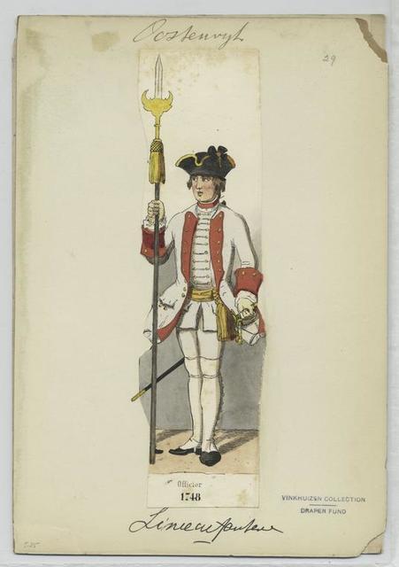 Officier 1748