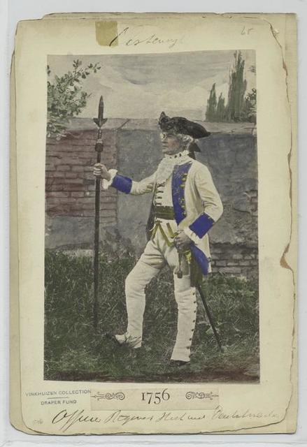 Officier Regiment Hoch und Deutschmeister, 1756