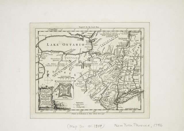 A map of the eastern part of the province of New York with part of New Jersey, &c