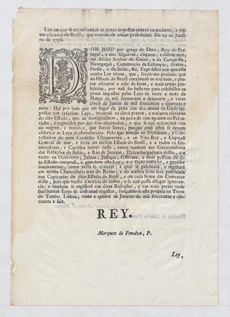 Royal Portuguese law