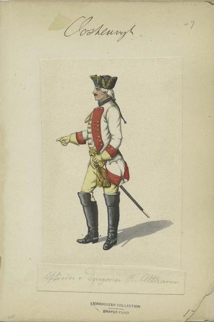 Officier a Dragoner R. Althann