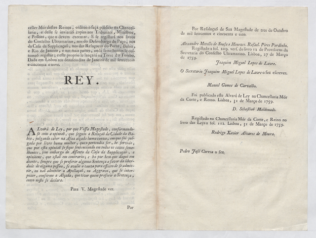 Slavery decree - legal suit
