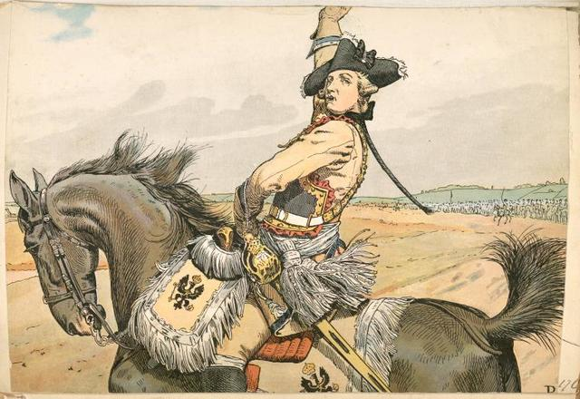 Germany, Prussia, 1760
