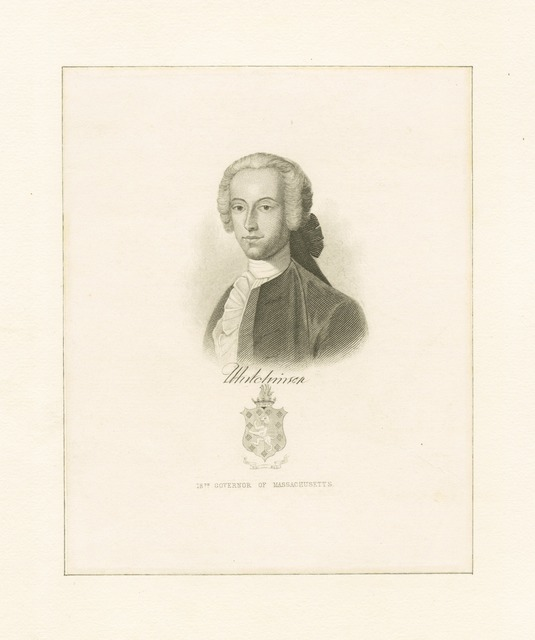 Hutchinson 18th governor of Massachusetts