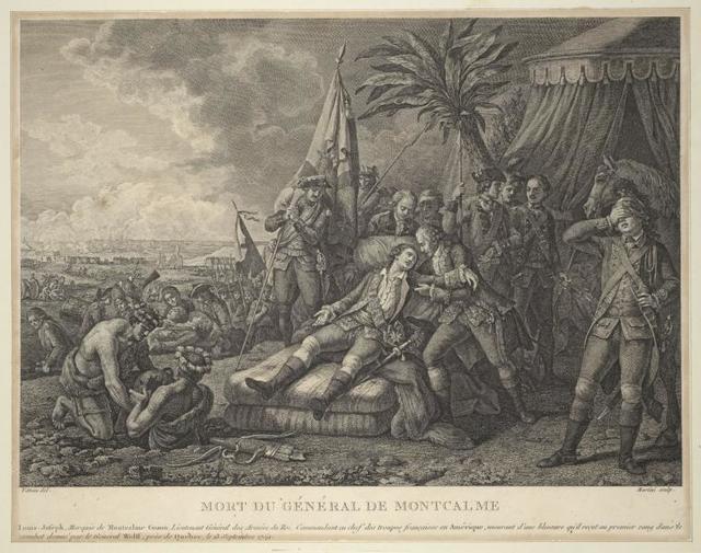 Mort du général de Montcalme.