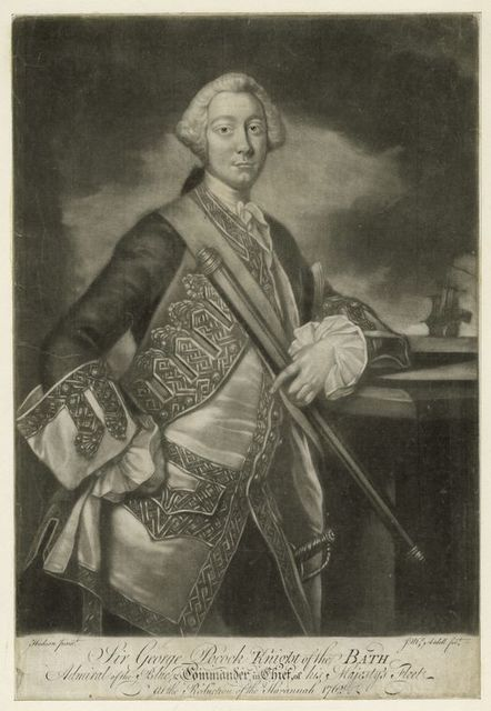 Sir George Pocock.