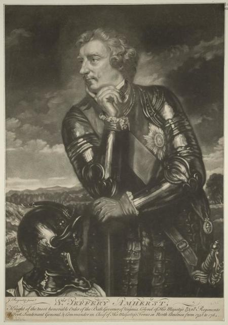 Sir Jeffery Amherst.