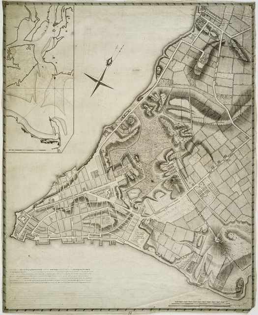 A plan of the city of New-York and its environs to Greenwich on the north or Hudsons River.