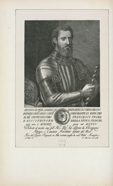 Giovanni Pier Andrea di Bernardo da Verrazzano.