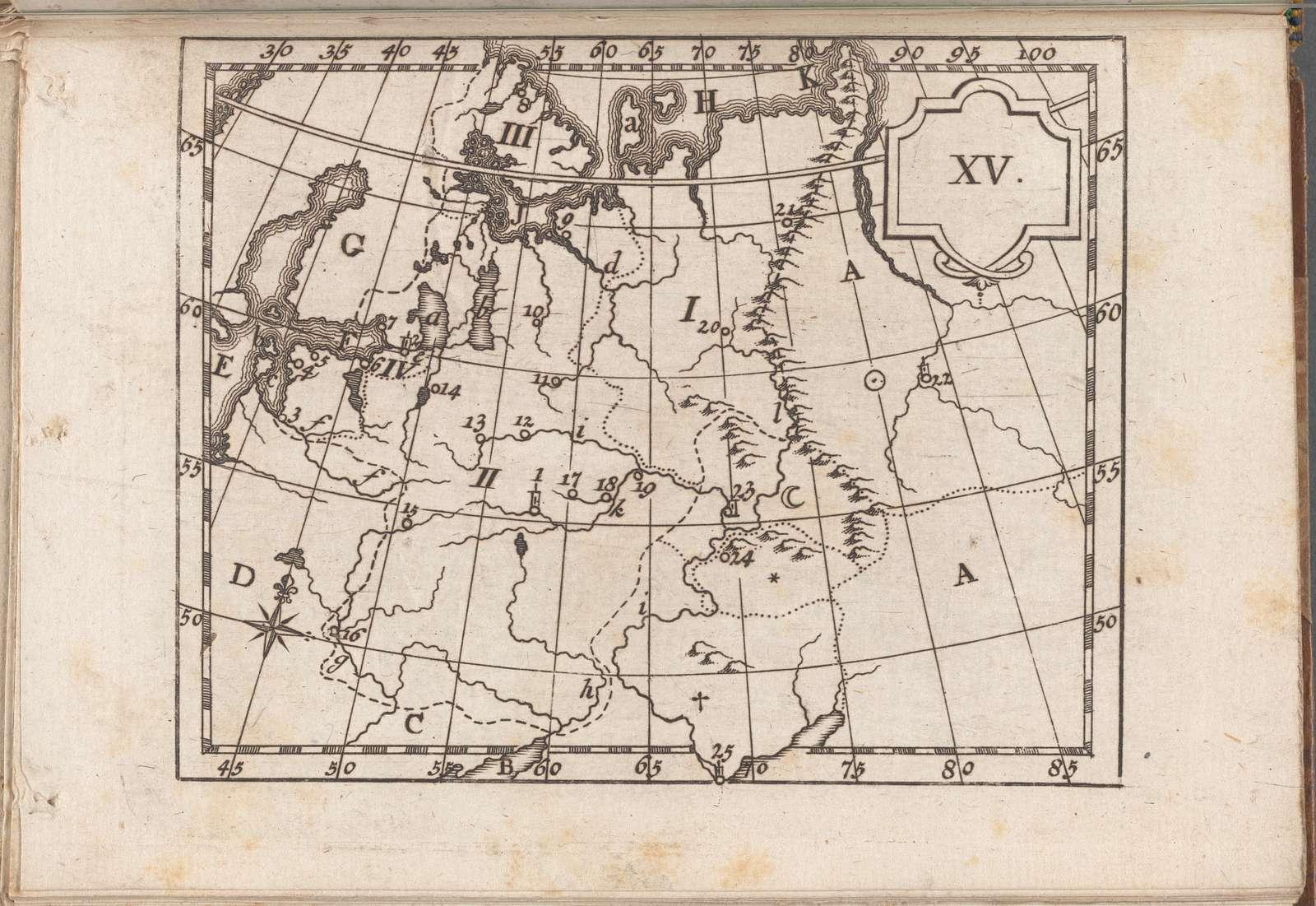 Atlas des enfans..., XV