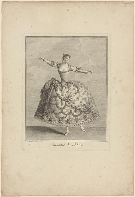 Suivante de Flore: J. B. Martin inv. et sculp
