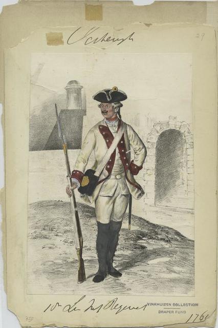 18-es Ungarisches Infanterie Regiment. 1764