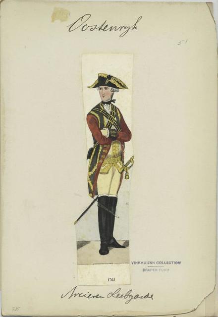 Arcieren Leibgarde. 1763