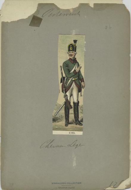 Chevaux Legers. 1763