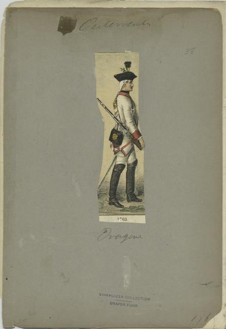 Dragoner. 1763