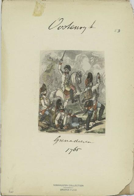 Grenadieren. 1765