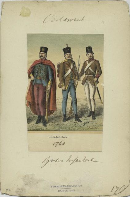 Grenz-Infanterie. 1760